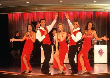who is black girl dancing on cruise ship commercial painet licensed rights photo of performers singing dancing