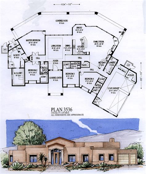 4000 square foot house plans 3500 to 4000 square feet
