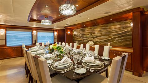 dining table image gallery luxury yacht browser