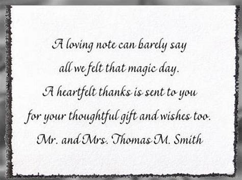 thank you for wedding invitations for wedding thank you cards invitation wording sles