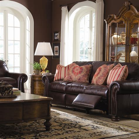thomasville benjamin leather sectional thomasville leather sofa benjamin best sofas decoration