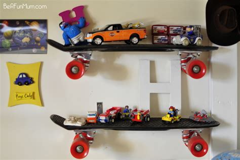 diy skateboard shelf be a