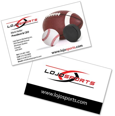 sports business cards template unique sports business cards image collections card