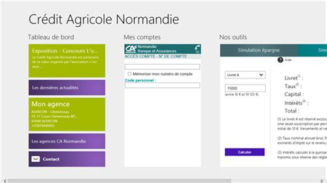 credit agricole si鑒e social cr 233 dit agricole normandie windows apps on microsoft store