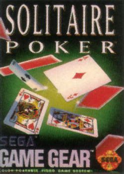 play solitaire poker sega game gear  play retro games   game oldies
