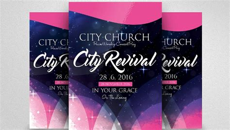 Free Revival Flyer Template