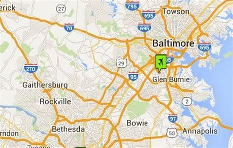 maryland map airports washington dc airports maps and directions