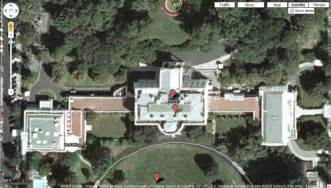 White House Directions by White House And Vp S Residence Now Visible On Maps