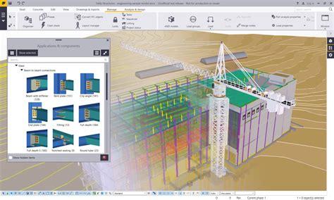 design for manufacturing program tekla structure kursu 220 231 252 nc 252 binyıl