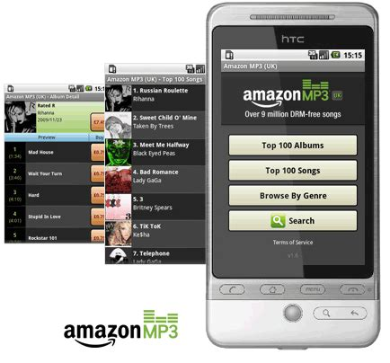 amazon uk amazon uk mp3 usa officially launches mp3 shop in the uk now working on 1 5 and 1 6 android phones eurodroid
