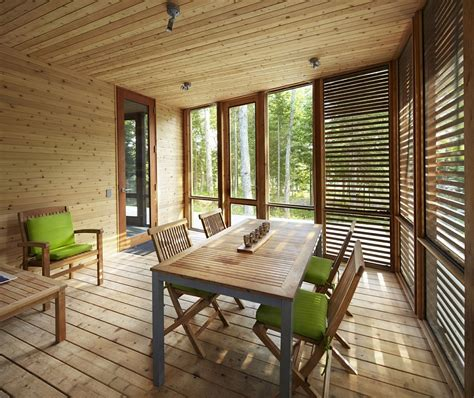 modern minimalism meets wooden warmth inside small winter ultra modern cabin blends rustic warmth with modern minimalism