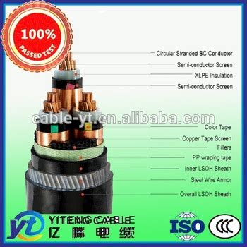 high voltage cable manufacturer china price high voltage power cable cables power cable