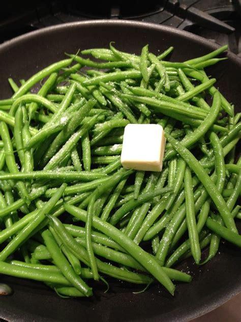 skillet steamed green beans serves 4 1 lb green beans stem ends trimmed 2 tablespoons
