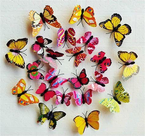 Magnet Kulkas Kupu Kupu Dari Belgia Untuk Souvenirs jual sticker dekorasi kupu kupu 3d dengan magnet