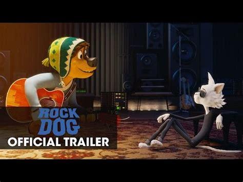 new trailer for rock dog starring luke wilson and eddie