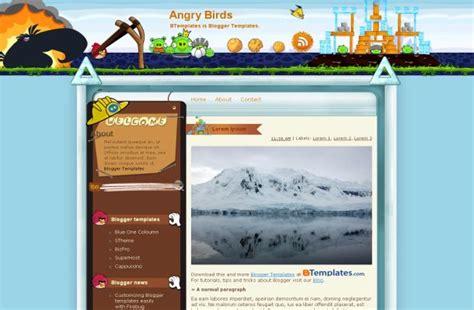 blogger themes nature free blogger birds theme blue nature template