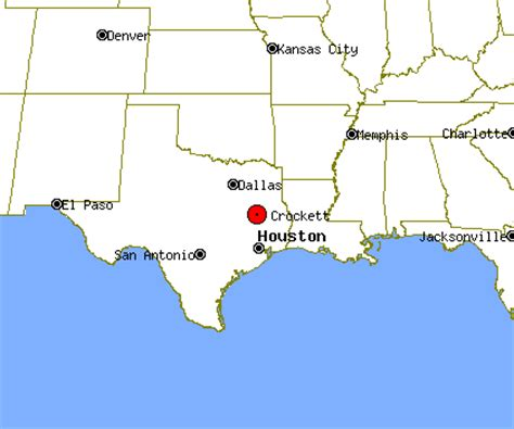 crockett texas map crockett profile crockett tx population crime map