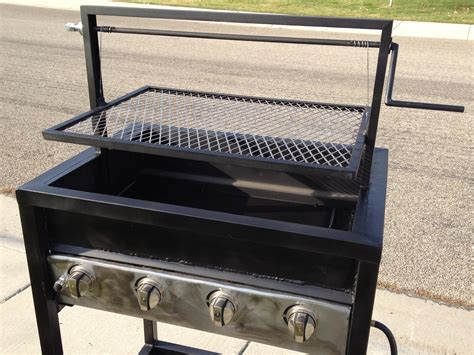Charcaol Grill by All In One Bbq Gas Charcoal Wood And Smoke One Bbq