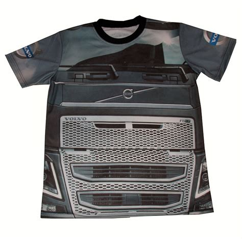 volvo tshirt volvo t shirt with logo and all printed picture t