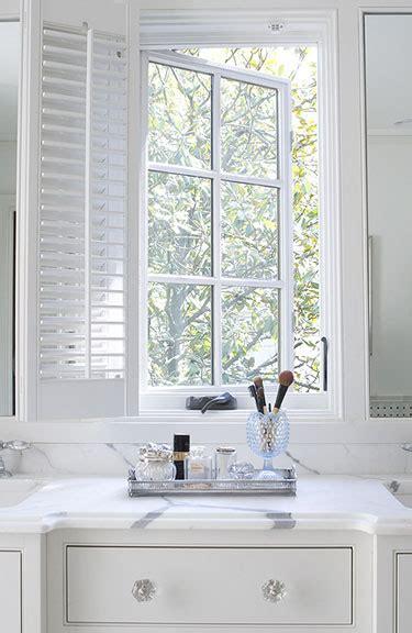 Built In Vanity Traditional Bathroom Revival Built In Vanity Bathroom