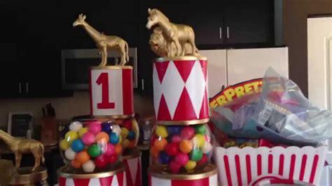 Twins St  Ee  Birthday Ee   Vintage Circus Diy Centerpieces Diy