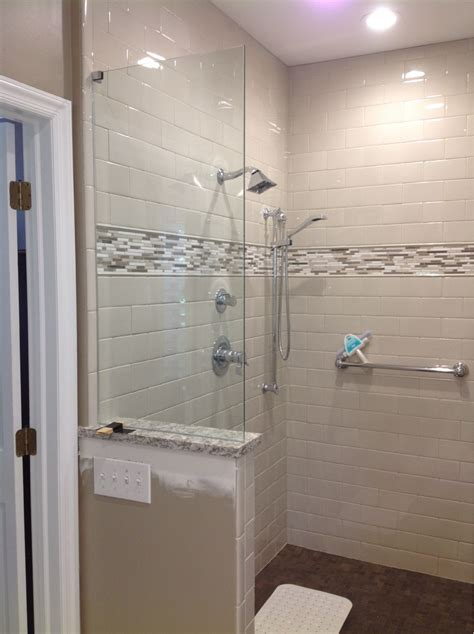 Shower Splash Panel Glass by Glass Shower Door Splash Panel Archives Alluring Glass