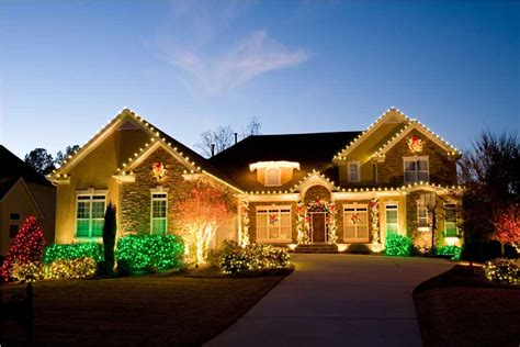 pictures of christmas decorations in homes lawn care services iowa all american turf beauty inc