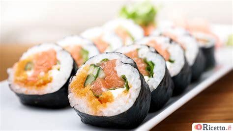 come fare il sushi in casa ricetta sushi vegetariano ricetta it