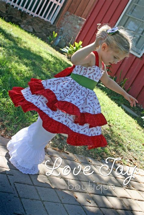swing christmas girls christmas dress swing top sweet by lovetayboutique
