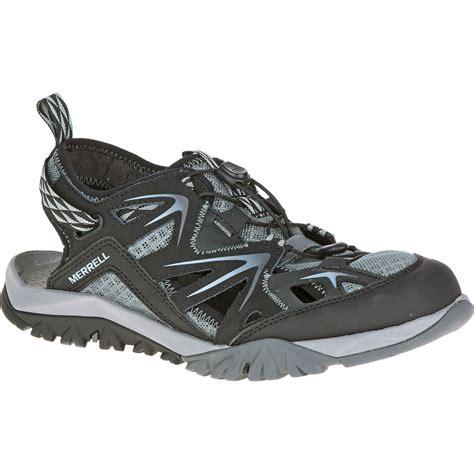merrell hiking sandals merrell s capra rapid sieve hiking sandals black