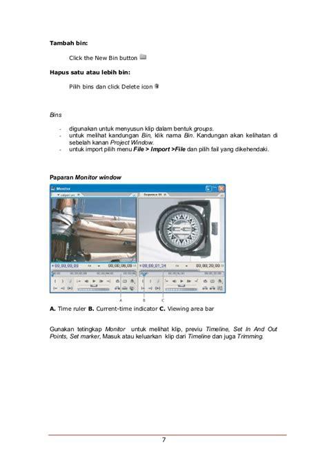 C Clip 4pcs Klip Untuk Kabel Di Frame 1 modul pembelajaran premeire pro