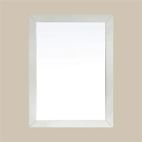 white mirrors for bathroom salem 22 x 30 white bath vanity decor mirror