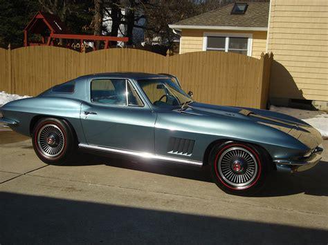 67 corvette for sale 67 l 71 coupe 427 435 lynndale blue corvetteforum