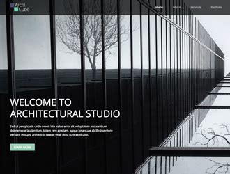 Business Html Templates Architecture Website Templates