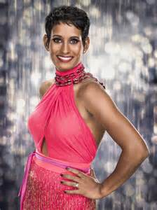 His And Her Items Naga Munchetty Had Reservations About Doing Strictly Come Dancing Tv Amp Radio Showbiz Amp Tv