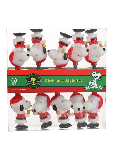 Santa Snoopy Lights Snoopy Lights