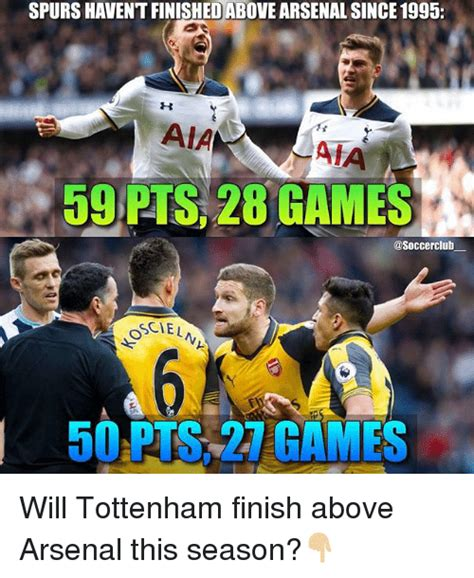 Arsenal Tottenham Meme - arsenal tottenham meme 28 images arsenal fans lead the