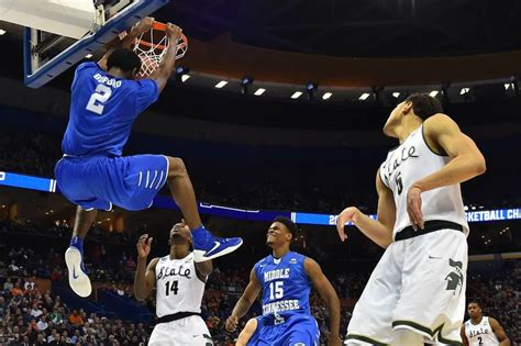 middle state middle tennessee state defeats michigan state in ncaa