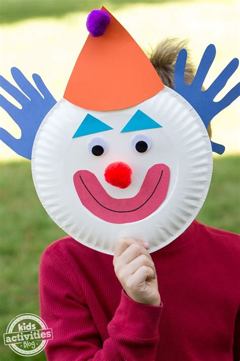 clown mask template best 20 clown crafts ideas on circus crafts
