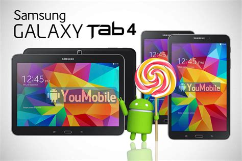 Galaxy Tab 4 Update official samsung galaxy tab 4 7 0 and galaxy tab 4 8 0 lollipop 5 1 1 updates to start in july