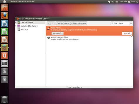 tutorial latex ubuntu ubuntu serves ms paint alternative in ubuntu 11 04 natty
