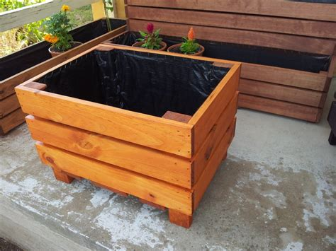 Large Planter Boxes by Large Planter Boxes Tree Planter Box Diy Planter Boxes