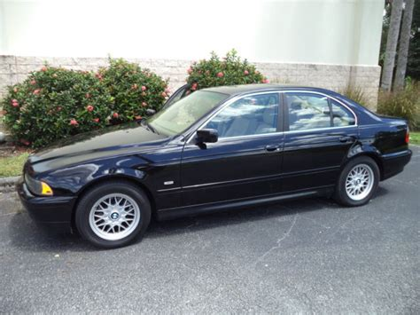 wbadt43441gx22236 bmw 525i 2001 black tan leather 4 door 108 141 naples florida condo car ultimate