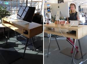 Standing Desk Hacks by Get Up Stand Up 10 Do It Yourself Standing Desks Brit Co