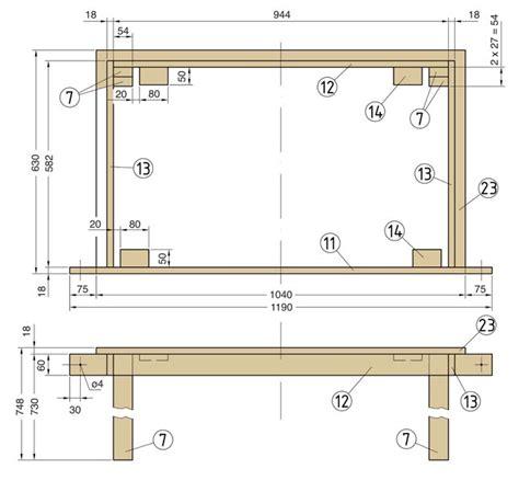 fare a letto costruire un letto contenitore fai da te design casa
