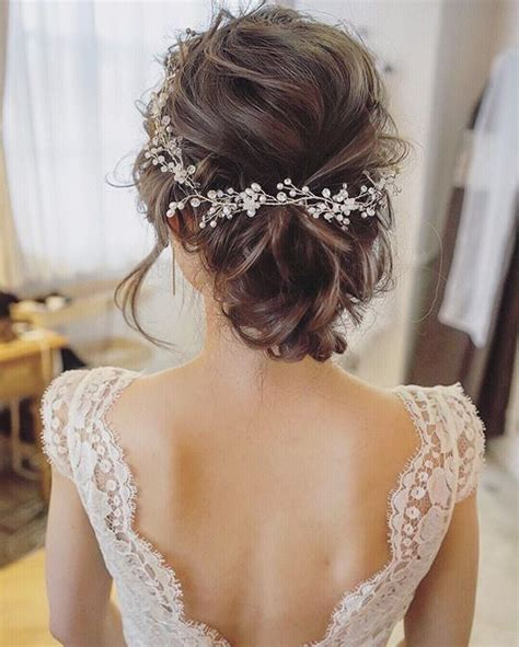 208 best wedding hairstyles images on pinterest bridal best 25 bride hairstyles ideas on pinterest elegant