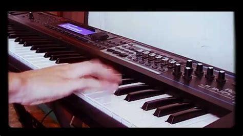 burn tutorial keyboard deep purple deep purple burn solo keyboard cover youtube