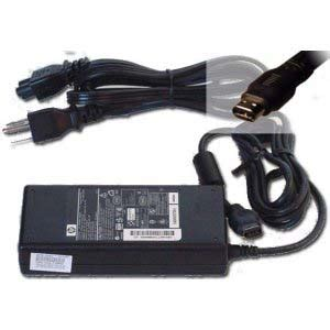 Adaptor Notebook Hpcompaq Original hp compaq original 374428 001 ac adapter 18 5v 4 9a 90w