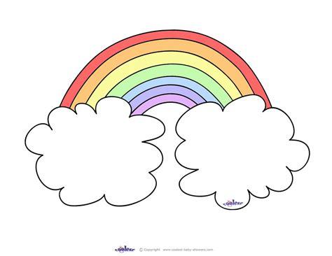 best photos of blank rainbow template printable rainbow