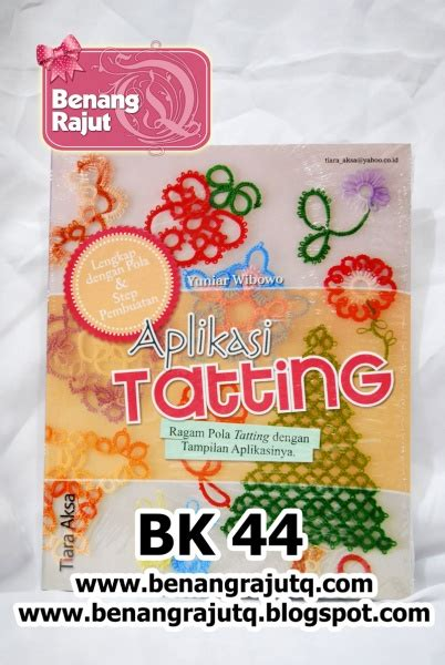 Buku Tatting by Buku Tatting Dan Kerajinan Buku 44 Aplikasi Tatting